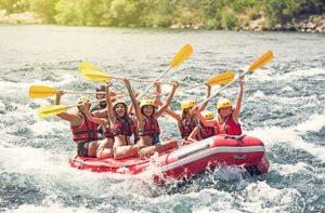 white water rafting schüleraustausch freizeit