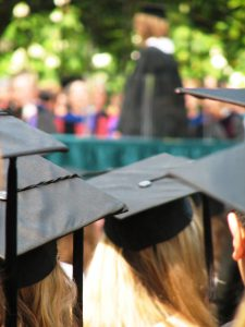 High-School-Graduates-hats-from-behind