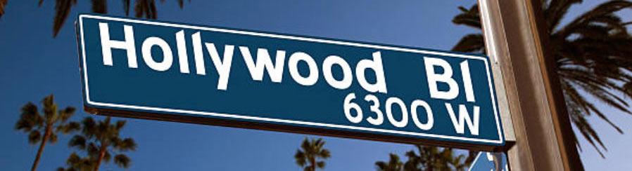Hollywood-Boulevard Schild Sign