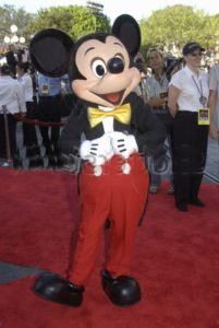 Mickey-Mouse Disneyland Anaheim California Schüleraustausch