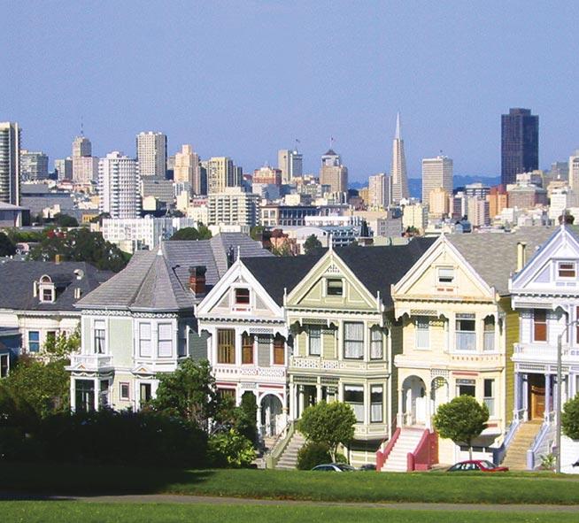 Frisco-Houses San Francisco California